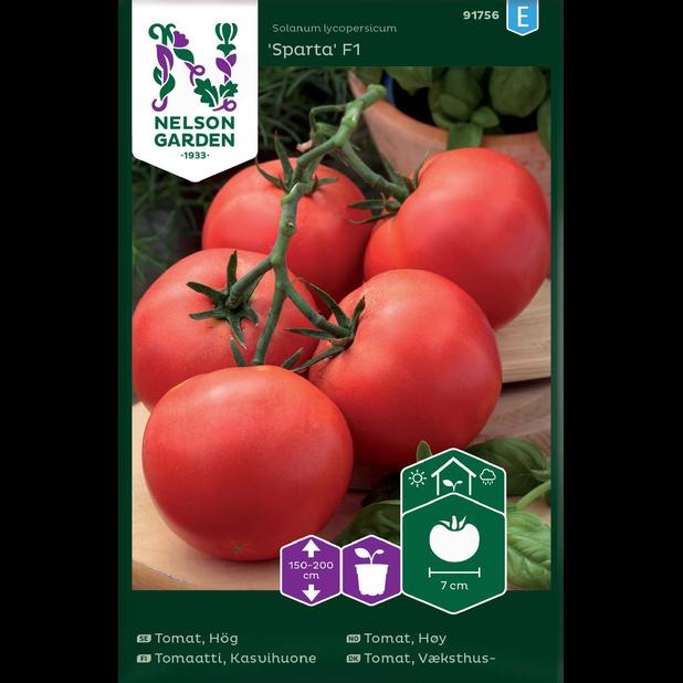 Tomaatti 'Sparta', Monivärinen