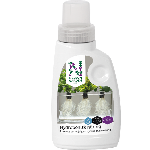 Ravinne vesiviljelyyn, 250 ml, Monivärinen