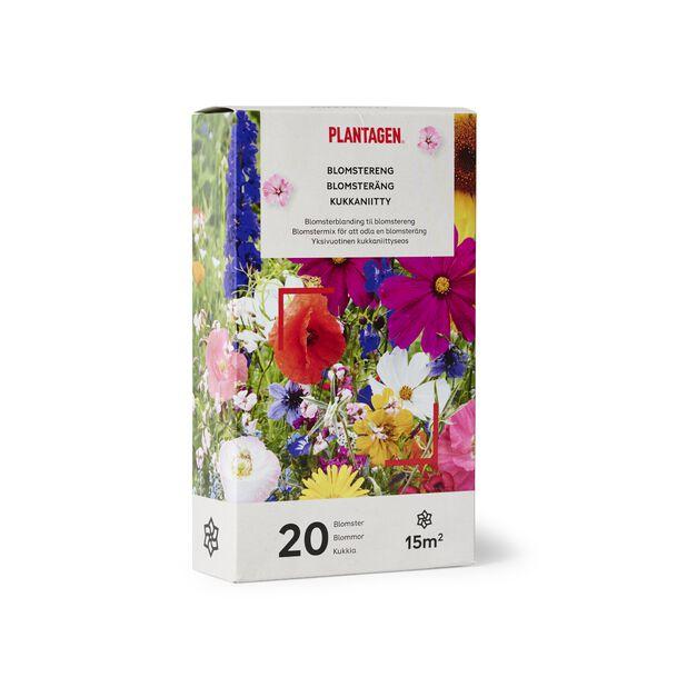 Kukkanitty, 15 m2, Monivärinen