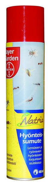 Hyönteissumute Natria, 400 ml, Monivärinen