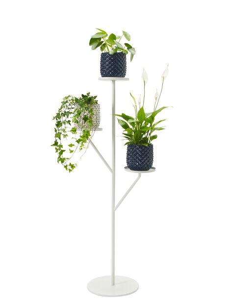 Kukkapylväs Situne, Korkeus 121 cm, Valkoinen