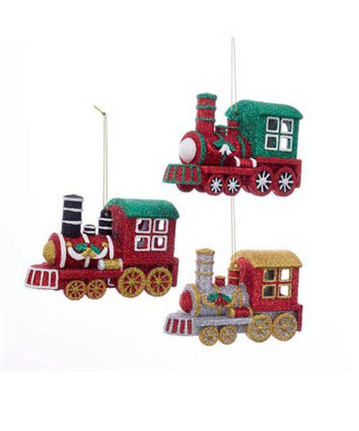 Joulukoriste juna, Korkeus 12 cm, Monivärinen