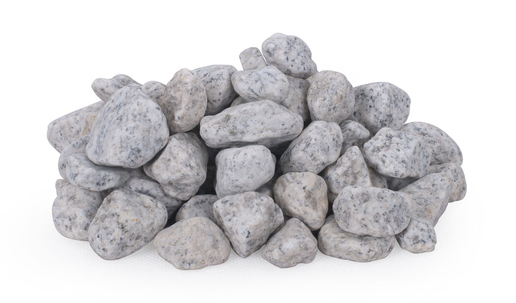 Koristekivi graniitti, 10 kg, Harmaa