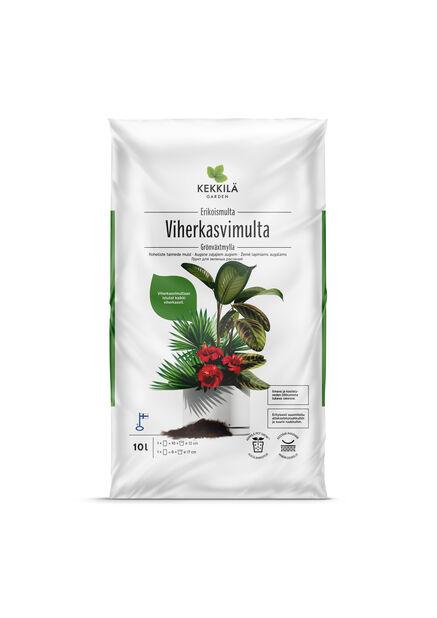 Potting mix for foliage plants 10 L  Kekkil�, half pallet