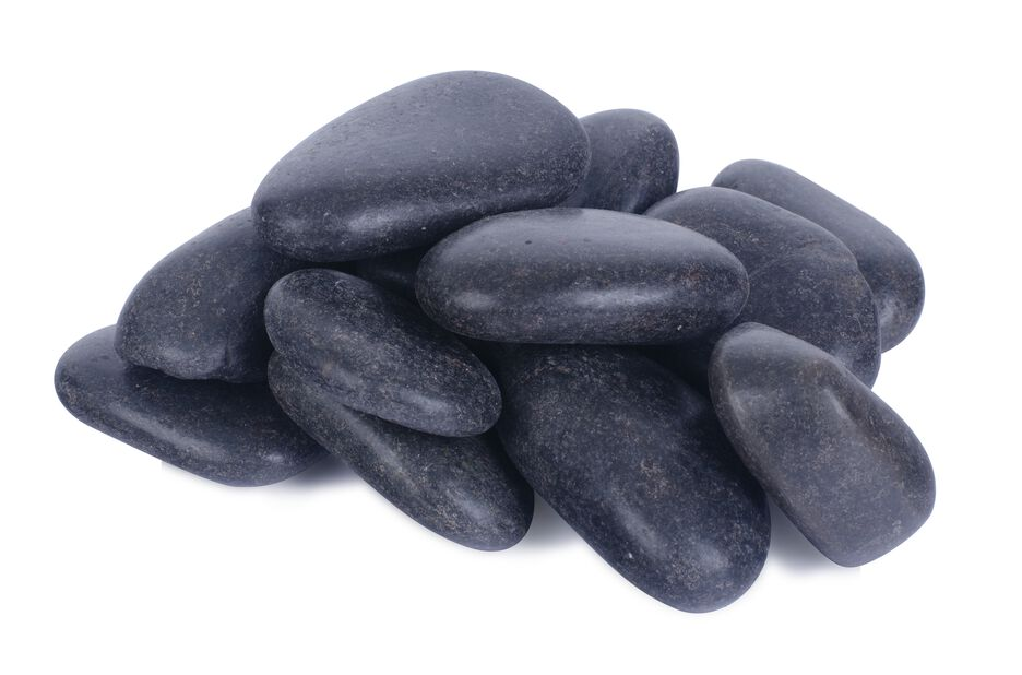 Koristekivi, 10 kg, Musta