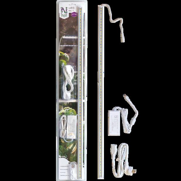Kasvivalaisin LED No.1, Pituus 80 cm, Valkoinen