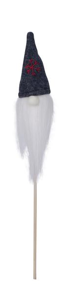 Bo-tonttu tikussa, Korkeus 38 cm, Läpinäkyvä