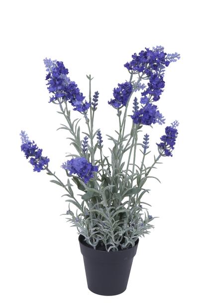 Laventeli ruukussa, K40 cm, violetti, tekokasvi