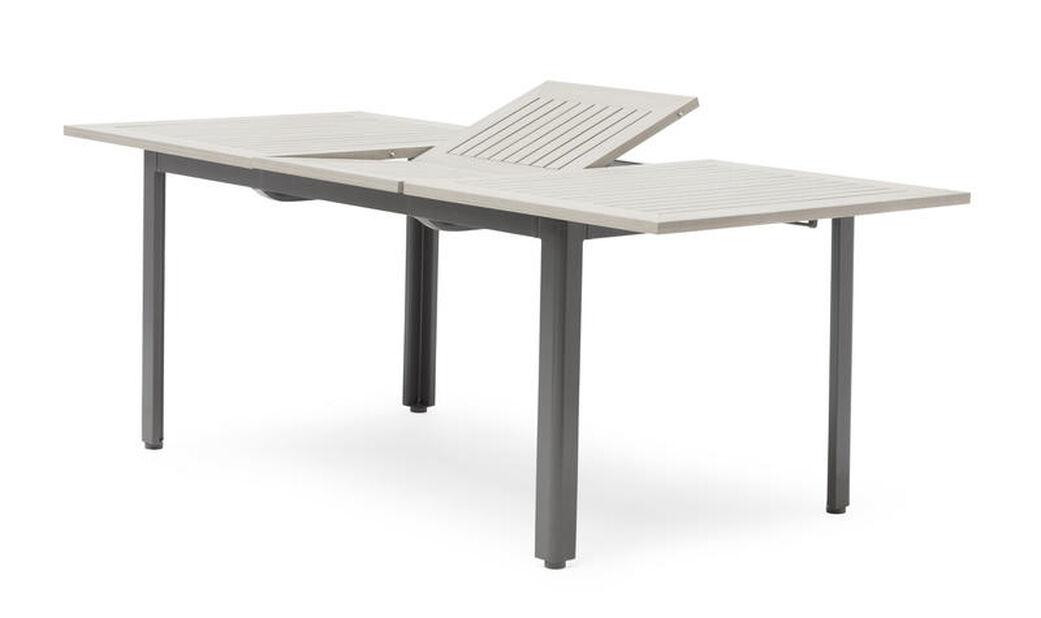 Ruokapöytä Lyon, Pituus 200 cm, Harmaa