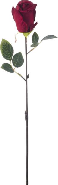 Leikkoruusu tekokasvi, Korkeus 45 cm, Punainen