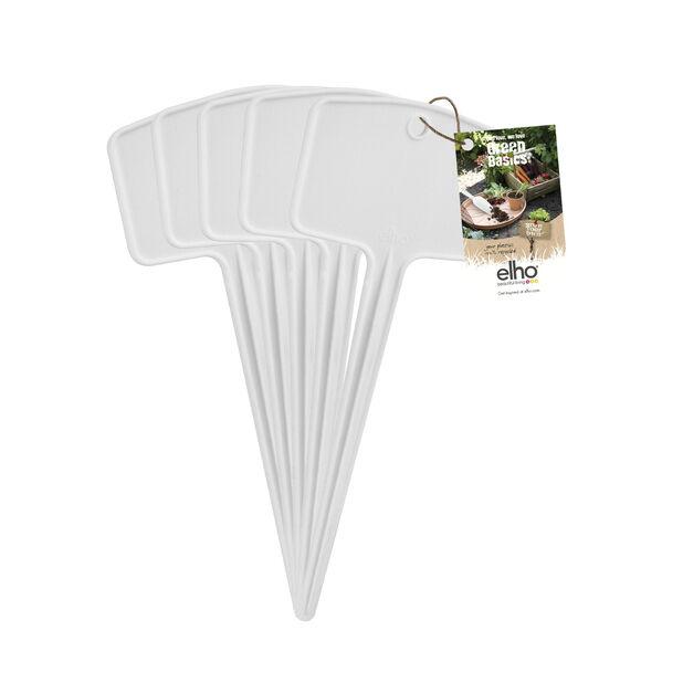 Taimikyltit Green Basics S, 5 kpl/pakk., 5 kpl, Valkoinen