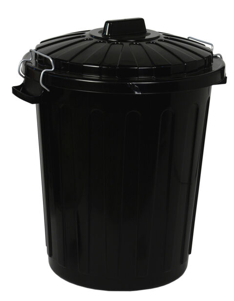 Roskakori, 70 L, Musta