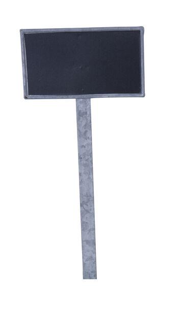 Liitutaulu-taimikyltti Tyra, Korkeus 33 cm, Hopea