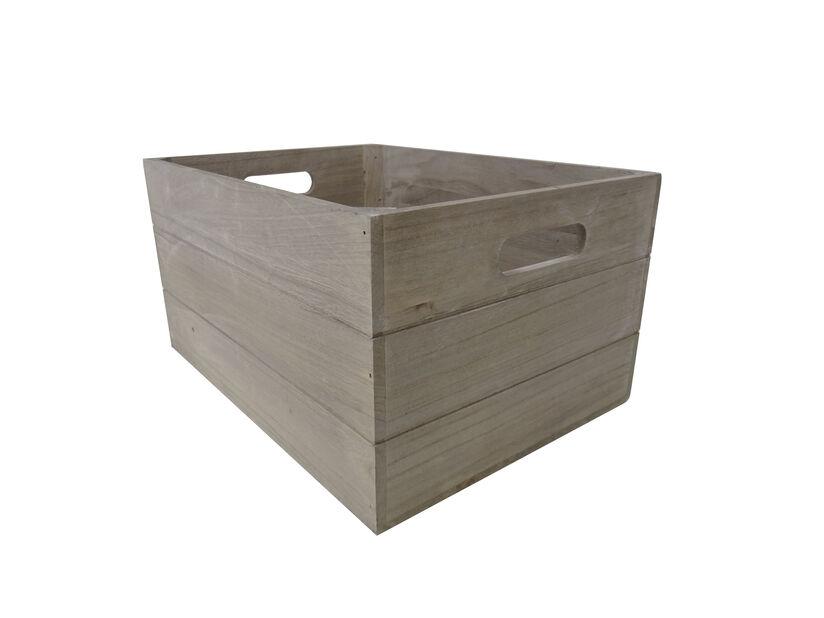 Säilytyslaatikko, Pituus 50 cm, Harmaa