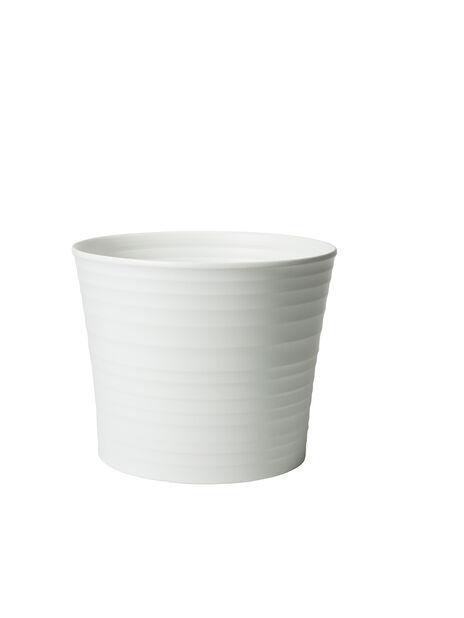 Miniruukku Nellie , Ø9 cm, Valkoinen