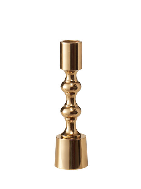 Kynttilänjalka Madison, Korkeus 16 cm, Kulta