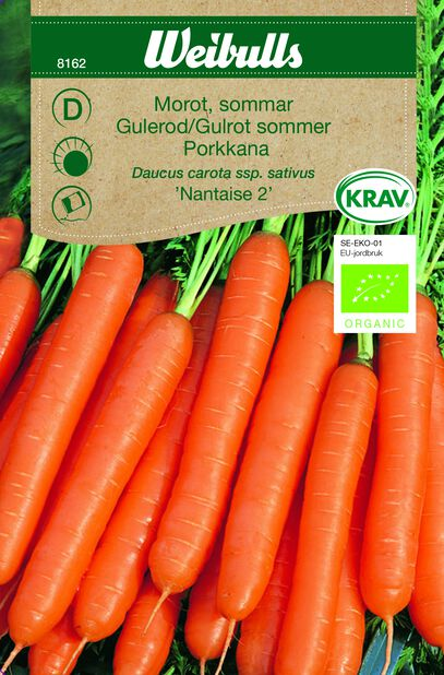 Porkkana 'Nantaise 2' Luomu
