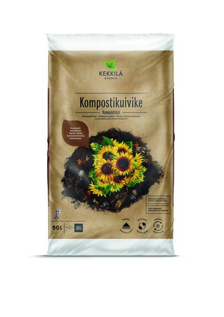 Kompostikuivike, 50 L, Valkoinen