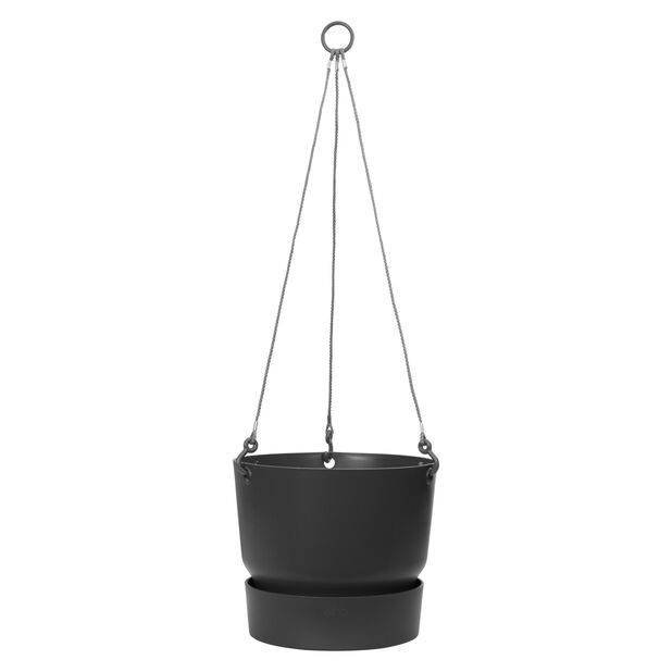 GreenVille-ruukku, Ø25 cm, Musta
