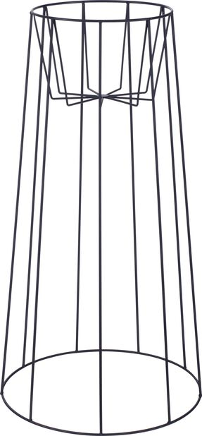 Kukkapylväs Danny , Korkeus 75 cm, Musta
