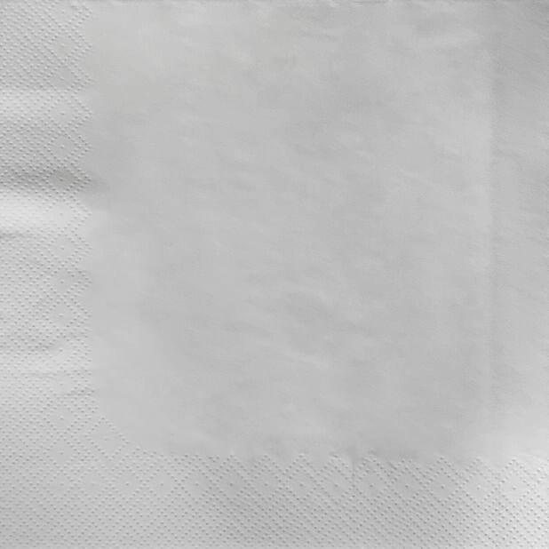 Lautasliinat, Korkeus 40 cm, Valkoinen