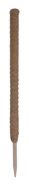 Kasvituki kookoskuitua, Korkeus 90 cm, Ruskea
