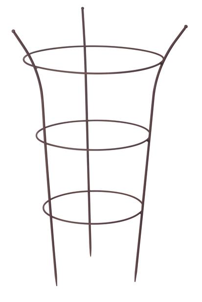 Pionituki 70 cm, ruosteenruskea