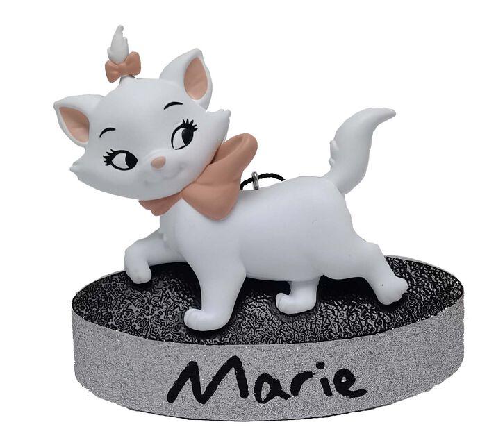 Joulukoriste Disneyn Aristokatit-elokuvan Marie, Korkeus 7 cm, Luonnonvalkoinen