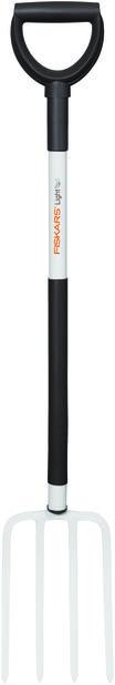Puutarhatalikko kevyt Fiskars, Pituus 105 cm, Valkoinen