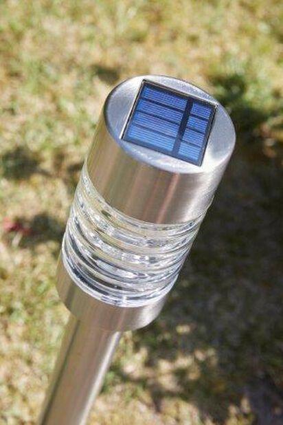 Aurinkokennovalaisin Torino, Korkeus 58 cm, Hopea