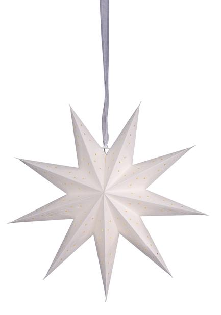 Koristetähti Wilma , Pituus 45 cm, Valkoinen