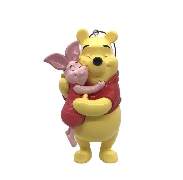 Joulukoriste Disneyn Nalle Puh ja Nasu, Korkeus 8.5 cm, Keltainen