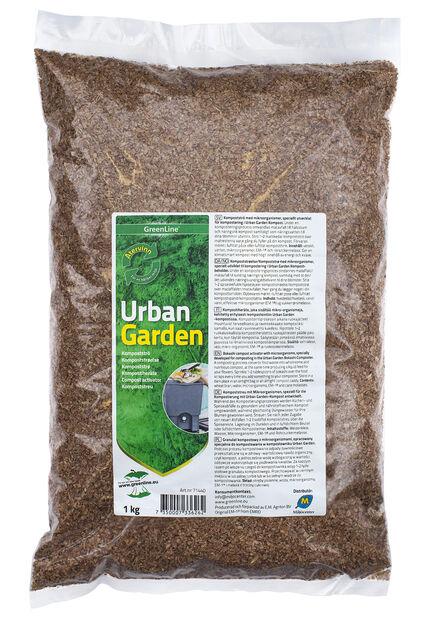 Urban Garden Kompostiheäte, 1 kg, Monivärinen