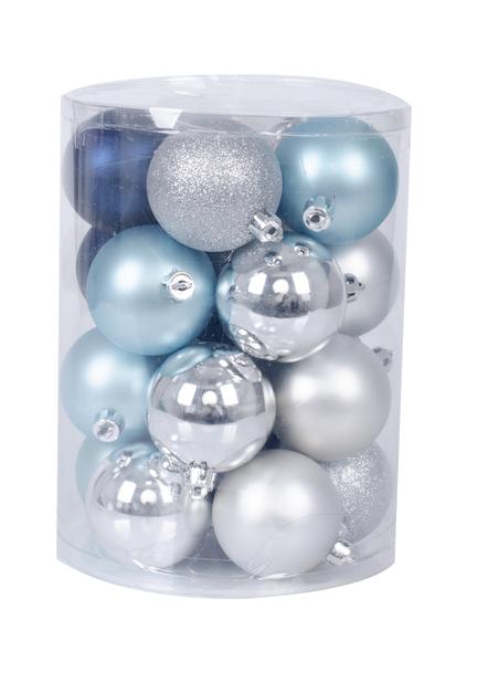 Joulupallo 20 kpl, Ø6 cm, Sininen