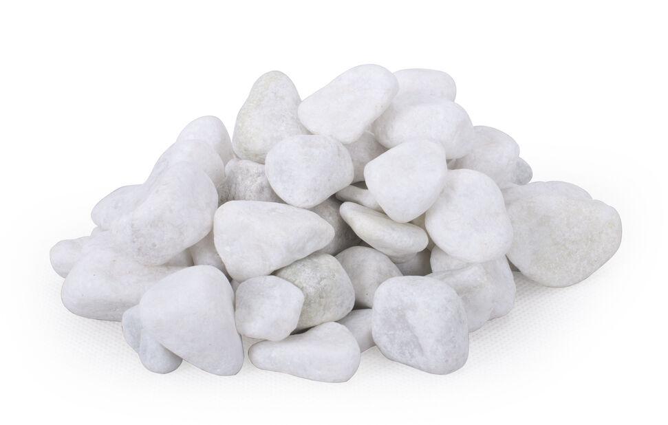 Koristekivi marmori, 10 kg, Valkoinen