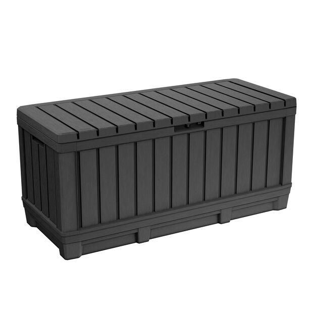 Pehmustelaatikko Kentwood, 340 L, Musta