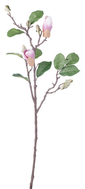 Magnolian oksa, K71 cm, vaaleanpunainen, tekokasvi