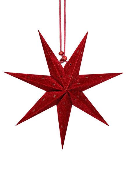Joulukoriste mini adventtitähti 3 kpl, Punainen