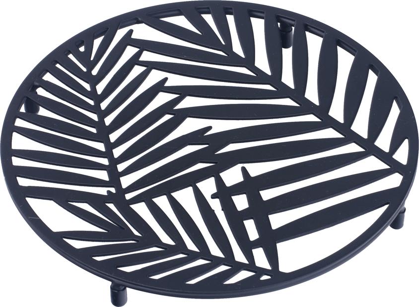 Ruukunalusta Rebecka, Ø28 cm, Musta