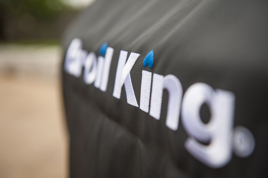 Grillinsuojus premium Broil King Crown 400 , Musta