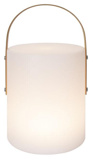 Spica ulkona pöytävalaisin, Korkeus 40 cm, Valkoinen