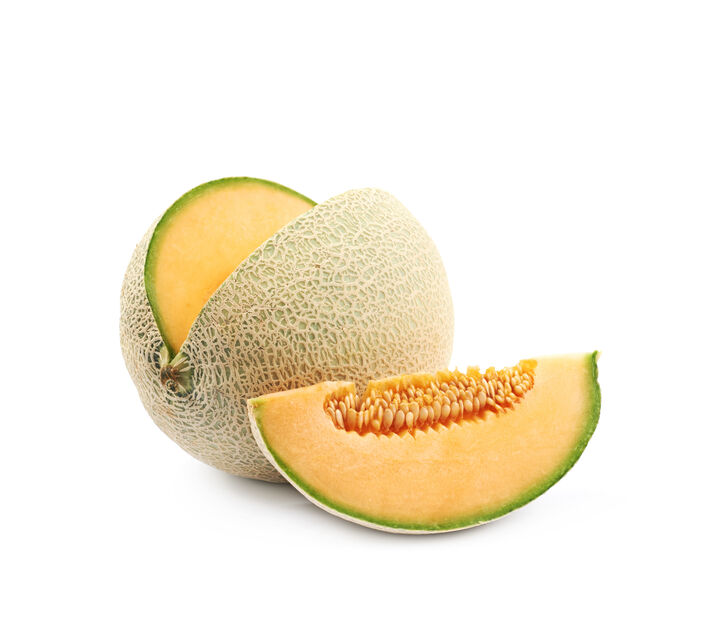 Meloni 'Cantaloupe', Ø10.5 cm, Oranssi