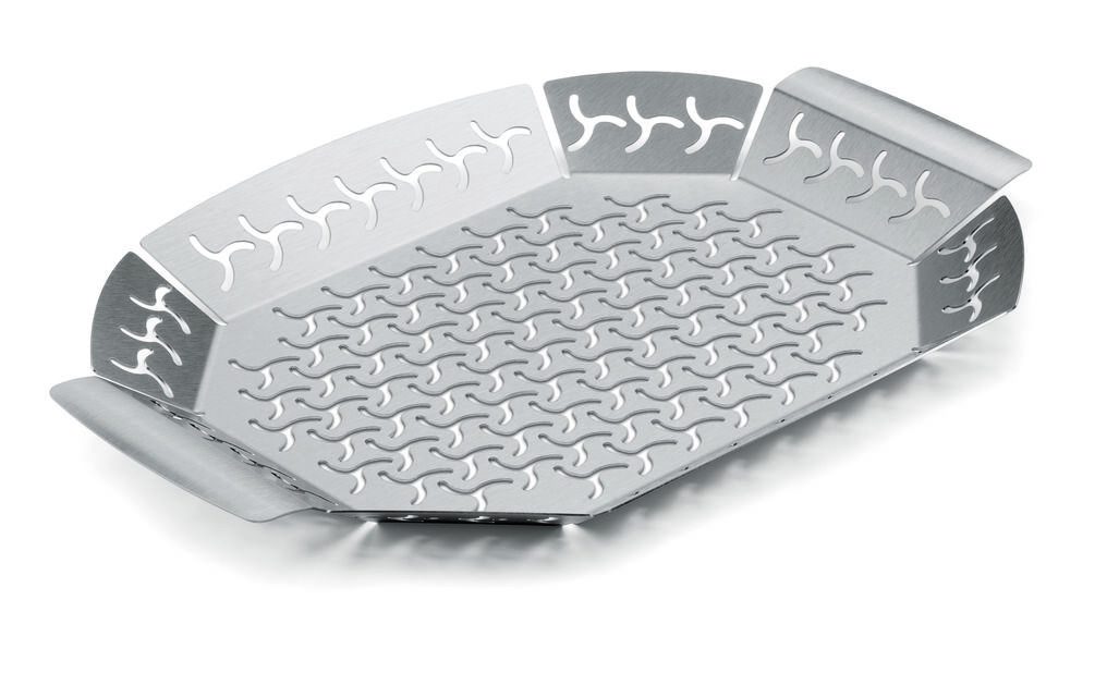 Stainless Steel Grill Pan Large