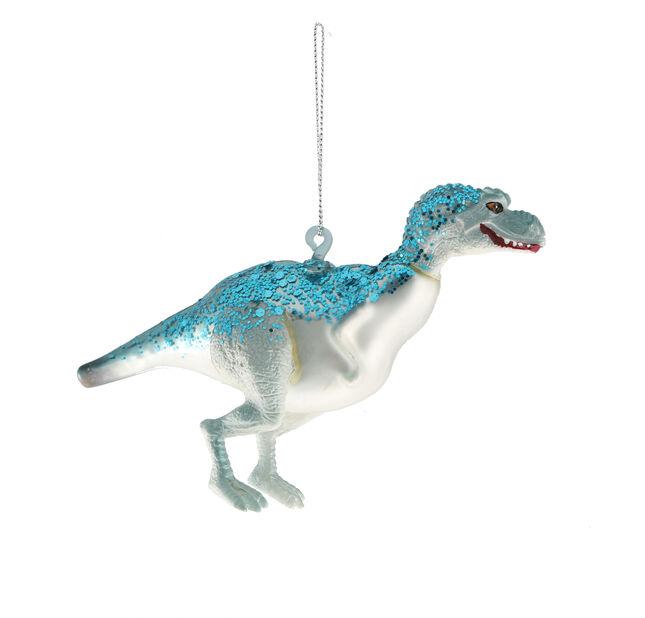 Kuusenkoriste dinosaurus, Korkeus 16 cm, Sininen