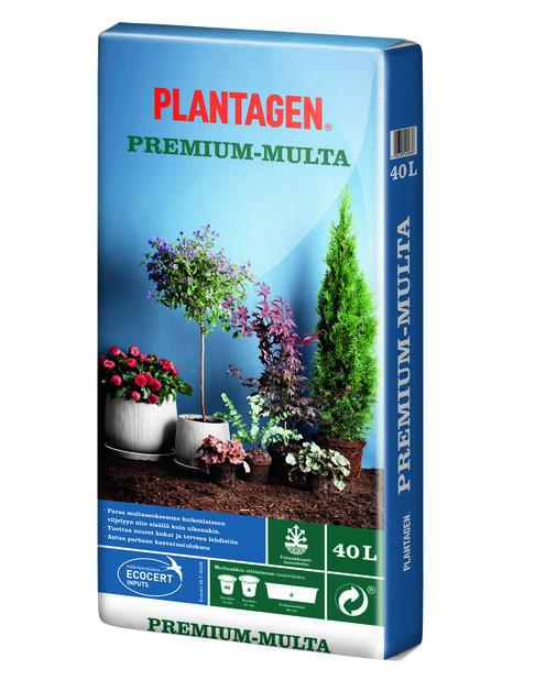 Kukkamulta Premium, 40 L, Monivärinen