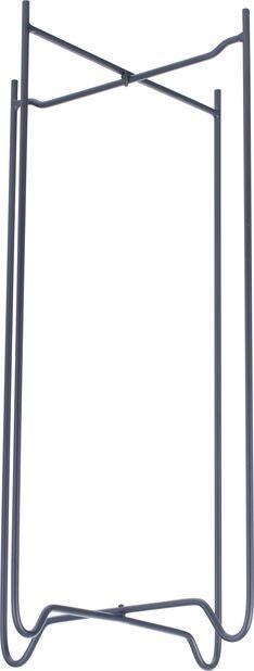 Kukkapylväs Zoe, Korkeus 49 cm, Musta