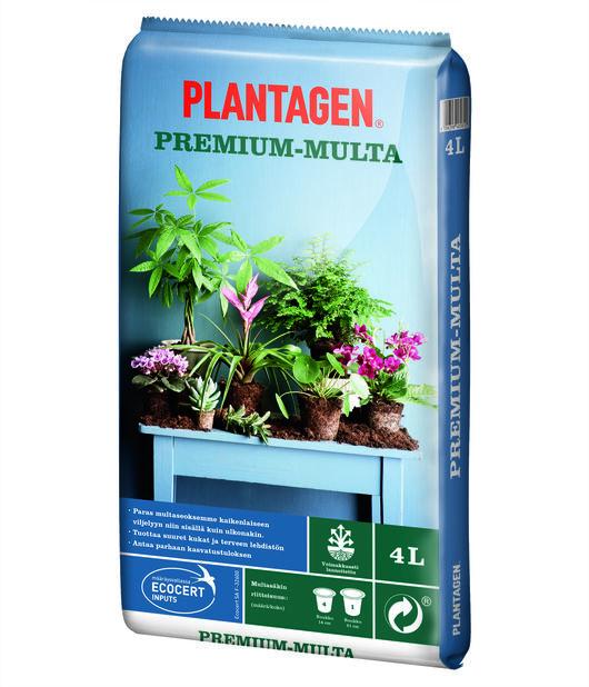 Kukkamulta Plantagen Premium 4 L