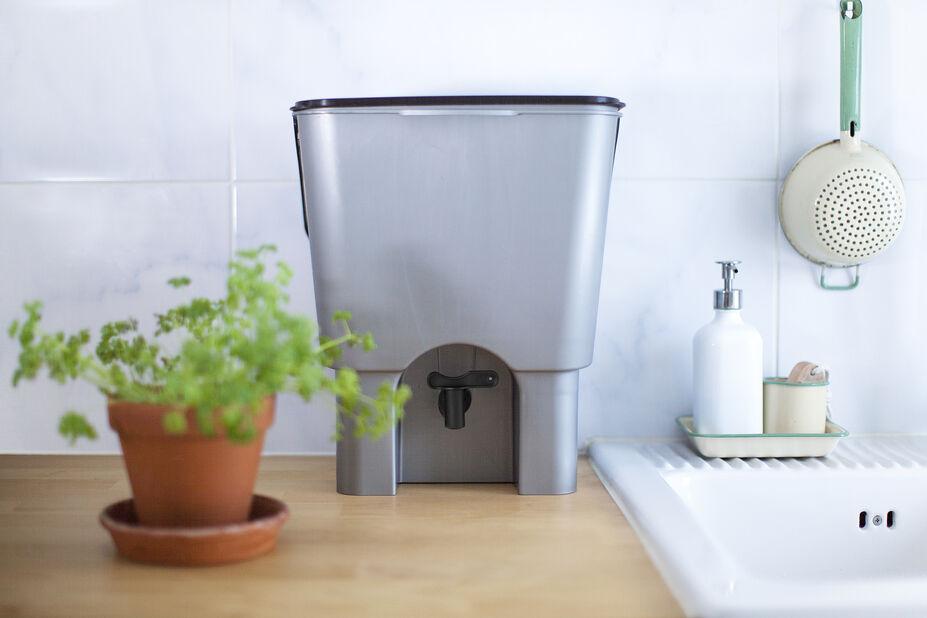 Urban Garden Komposti, 15 L, Harmaa