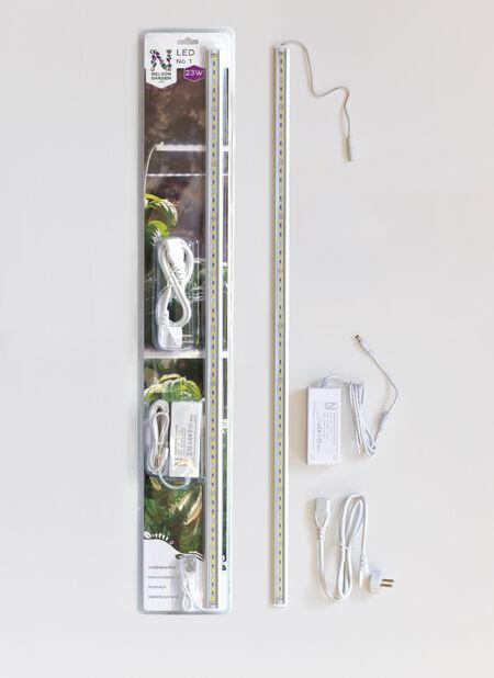 KasvivalaisinLED No.1 85cm 23W sis muunt, Pituus 80 cm, Valkoinen