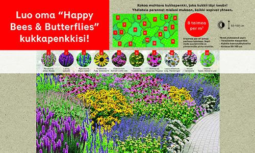 Rabatt Happy Bees & Butterflies